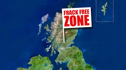 Frack free Scotland